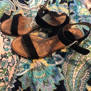 Sam Edelman strap small heel sandals size 8.5